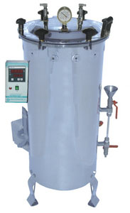 Vertical Jacketed Digital Autoclave Preset Model