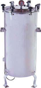 Vertical Autoclave Standard with Low Water Level Cut Off